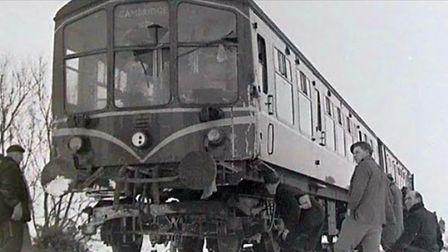 May 1960 - Diesel:The change from steam to diesel at the Cambridge railway depot