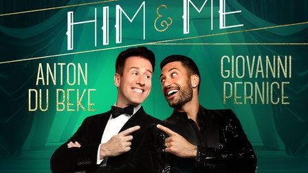 Anton du Beke and Giovanni Pernice will be bringing some Strictly glamour to the Ipswich Regent