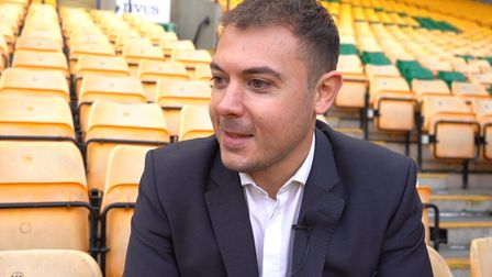 Norwich City's chief operating officer Ben Kensell who spoke with Anna during her recovery