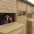 Welney Wetland Centre hides re-open on May 17:birdwatching from hide