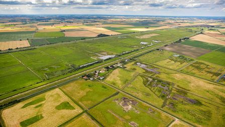 Welney Wetland Centre hides re-open on May 17: aerial view in summer