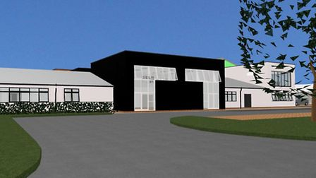 3D image of what the new specialist academy in King's Lynn could look like. Submitted