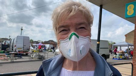 Christine Adams, 70, from Wells-next-the-Sea.