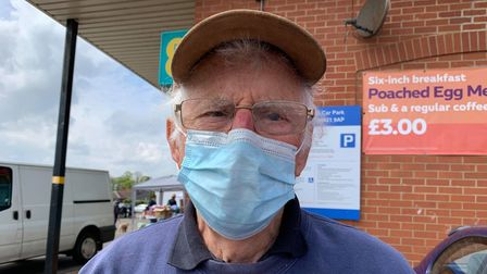 Terry Kane, 80, from Wells-next-the-Sea.