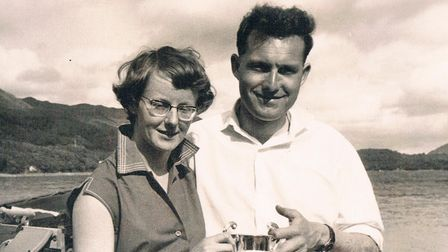 Shirley and Barrie Skelcher
