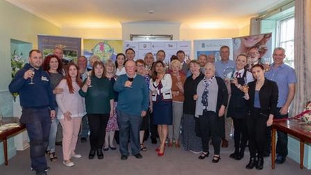 The first Thetford Business Awards held in 2019.