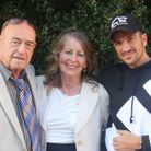 Maurice and Margaret with Peter Andre in 2018