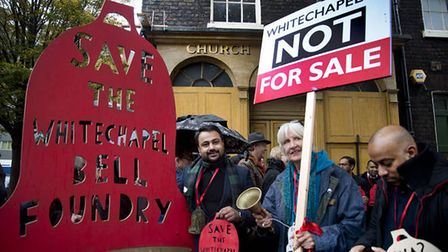 The four-year campaign to save Whitechapel Bell Foundry