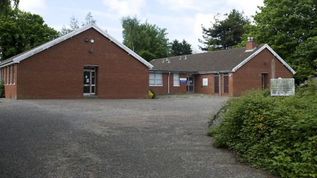 The former doctors' surgery building on Northfield Road which North Norfolk District Council wants t