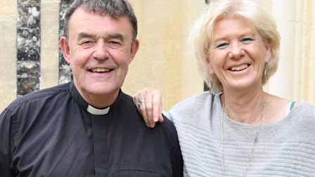 Revd. Nigel Prior and his wife Liz Picture: JANICE POULSON