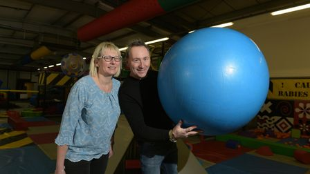 Layden-Grant and Frances Seymour are bringing the Fun Factory in Saxmundham back to life after it wa