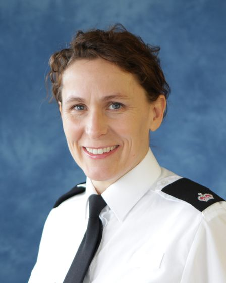 Superintendent Jane Topping from Suffolk police