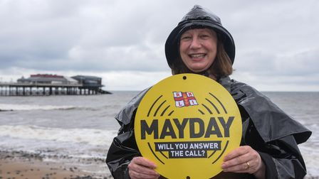 Jacqui Palmer, Heritage Development Manager at the Henry Blogg Museum in Cromer, on the RNLI's Mayda