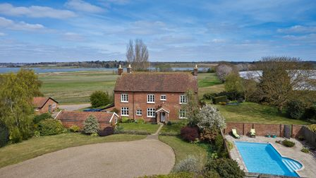 A view of Hill Farm, Martlesham, which is being offered up for sale for the first time in 60 years