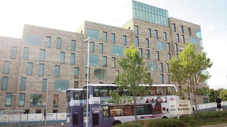 The new Norwich University of the Arts hall of residence will open this weekend.