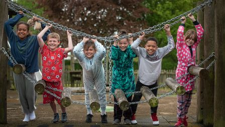 Pupils at Ringshall Primary School enjoyed a day in their pj's as part of mental health awareness w