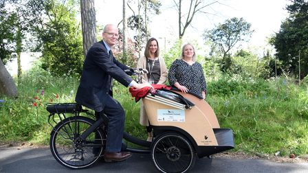 Stowmarket rickshaw launched by BSEVC