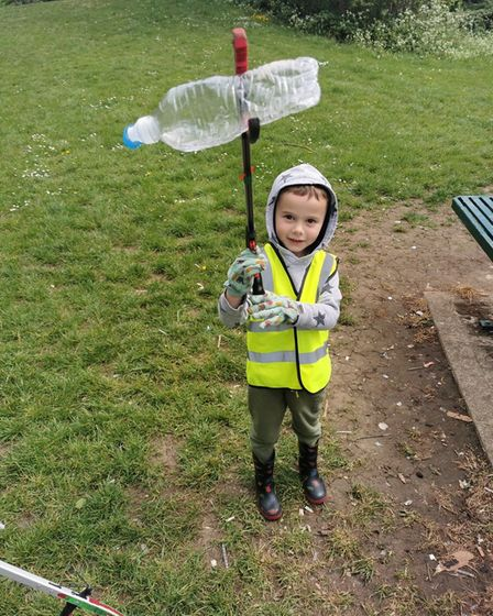 Children at the nursery will take part in the fortnightly litter picks