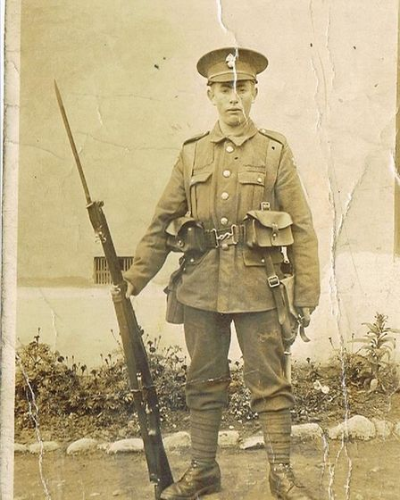 Arthur Muteham was the only one of the four brothers to survive the First World War