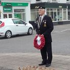 On behalf of the March branch of the Royal British Legion, presidentBrian Gowler presented a wreath at the war memorial.