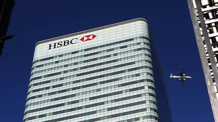 HSBC Tower in Canada Square, Canary Wharf, London,. Photo: Anthony Devlin/PA Wire