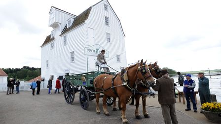 Woodbridge's Tide Mill Museum is home to one of the few remaining tide mills in the country