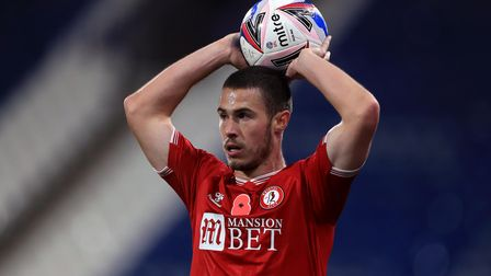 Bristol City's Tommy Rowe during the Sky Bet Championship match at the John Smith's Stadium, Hudders