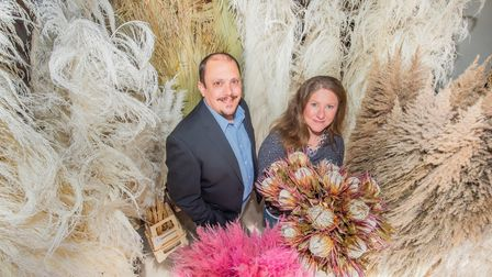 Phil Hart and Grace Michaels, Co-Founders of Barn Florist