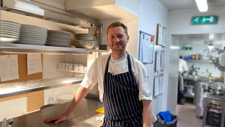 Iain McCarten, chef and owner at the Last Brasserie in Norwich