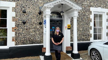 Lisa Cason, general manager at the Waveney House Hotel in Beccles.
