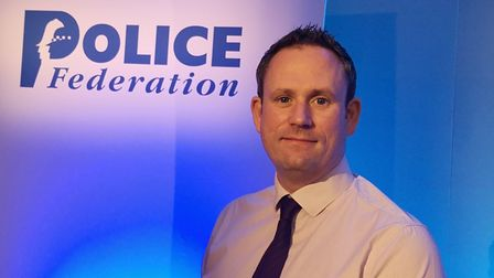 Norfolk Police Federation chairman Andy Symonds. Picture: Police Federation
