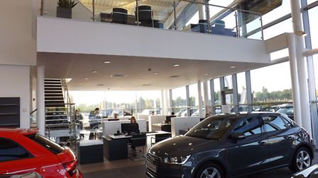 Norwich Audi had undergone a major redevelopment to enhance the showroom and customer experience.