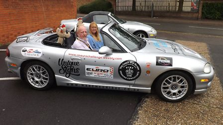 Tony and Carolyn Homewood drove a Mazda MX-5 to Monaco and back in four days for the Stroke Associat