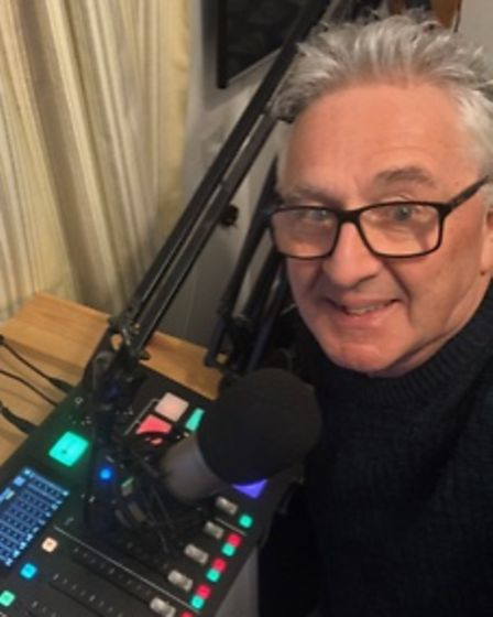 Keith Travis, who has set up Beccles Town Radio.
