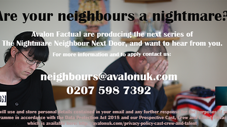 Do you have nightmare neighbours?