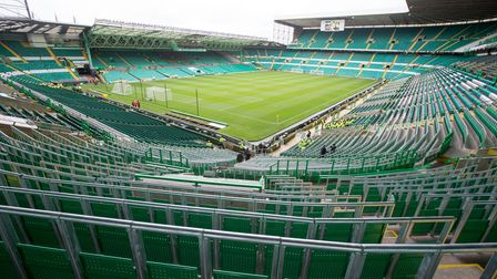 Celtic's new safe standing area for over 2000 fans being used for the first time ahead of the pre-se