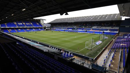 A genral view of the stadium before the Sky Bet League One match at Portman Road, Ipswich.