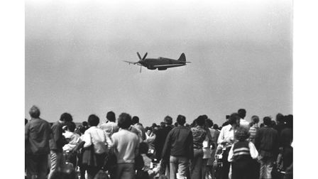 Bentwaters Air Show drew the crowds in 1973