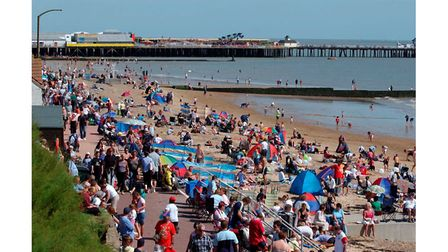 Thousands of visitors flocked to Clacton Airshow in 2004