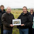 Andrew Ketley returns to the spot he crash landed a Tiger Moth plane at White House Farm, Oulton Bro