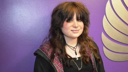 Elicia Glass plays Scaramouche in We Will Rock You