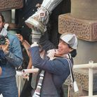 Paul Mariner with UEFA Cup