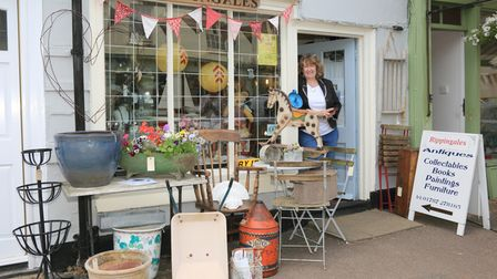 Paula Ripppingale of Rippingales Antiques in Clare