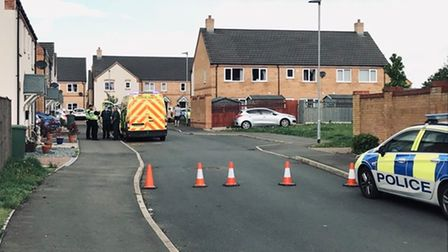 Jaimie Collins, of Lancaster Way, Chatteris, has been charged in connection with an armed robbery in Wimblington