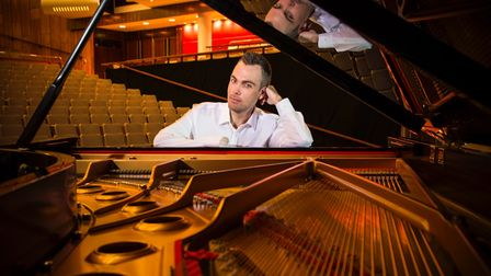 Nicholas McCarthy, the inspirational one-handed pianist,