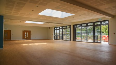 The new Bungay Community Centre on Old Grammar Lane. Picture: Danielle Booden