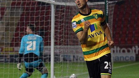 Norwich City's club-record signing Ricky Van Wolfswinkel aims to make his mark at Real Betis. Pictur