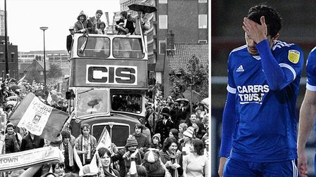 Ipswich Town then and now