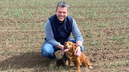 Jamie Lockhart is the Norfolk branch chairman of the National Farmers' Union (NFU)
