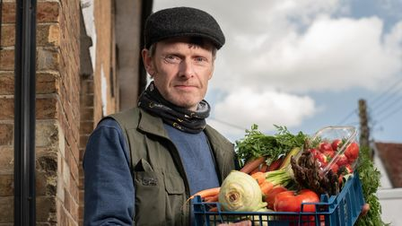 Andrew Ward, owner of Andrew Wards Greengrocers. Picture: Sarah Lucy Brown